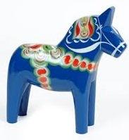 dalahästblå