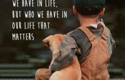 Vem har du i ditt liv